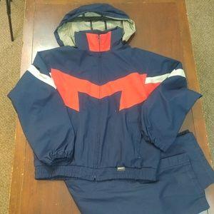 Staff by Wilson Mens Track Suit JumpSuit Windbreak